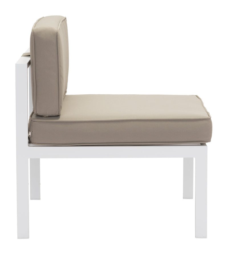 Zuo en Beach Middle Chair - Set Of 2