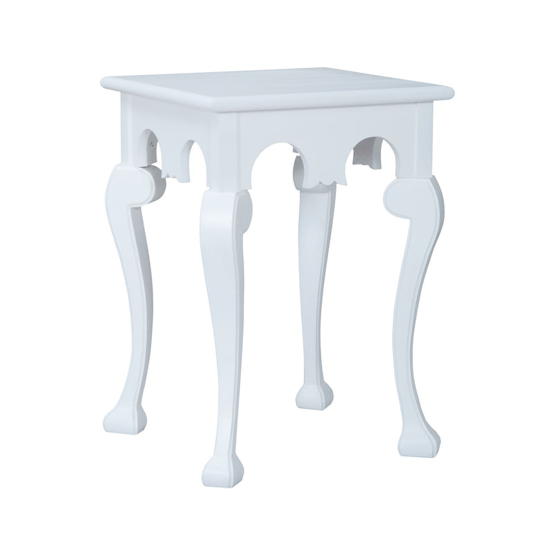 Guild Master Manor Cabriole Side Table