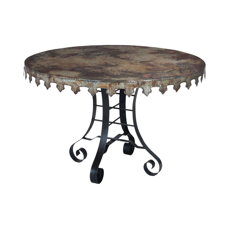 Guild Master Reclaimed Tin Bistro Table