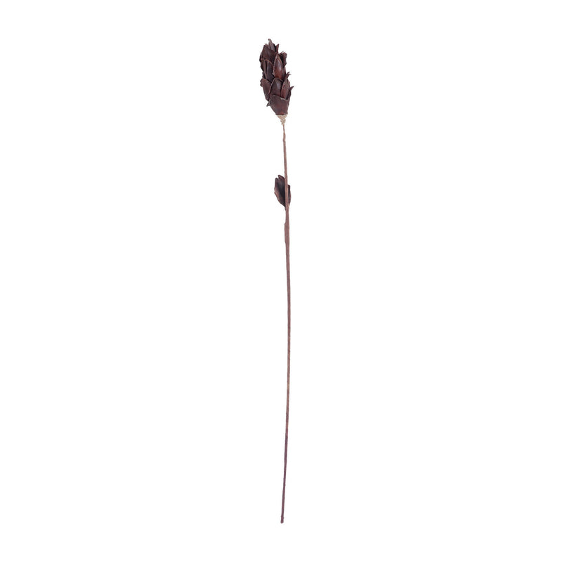 Dimond Home Black Corn Leaf Pole
