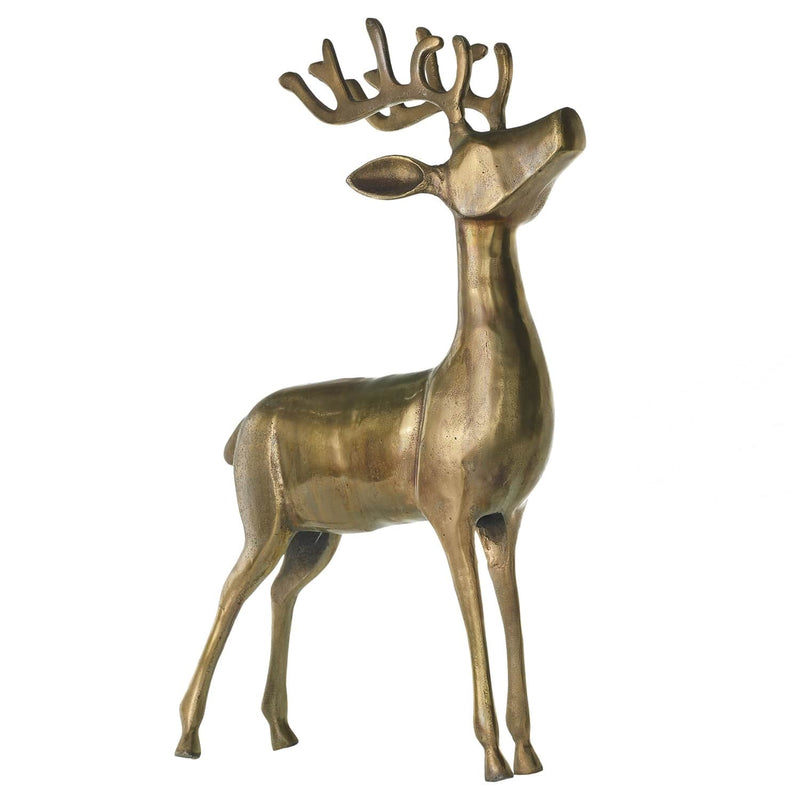 Aluminum Reindeer By Accent Decor
