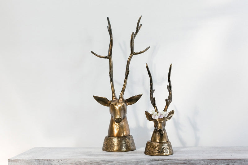 Deerhead Set of 4 by Accent Decor