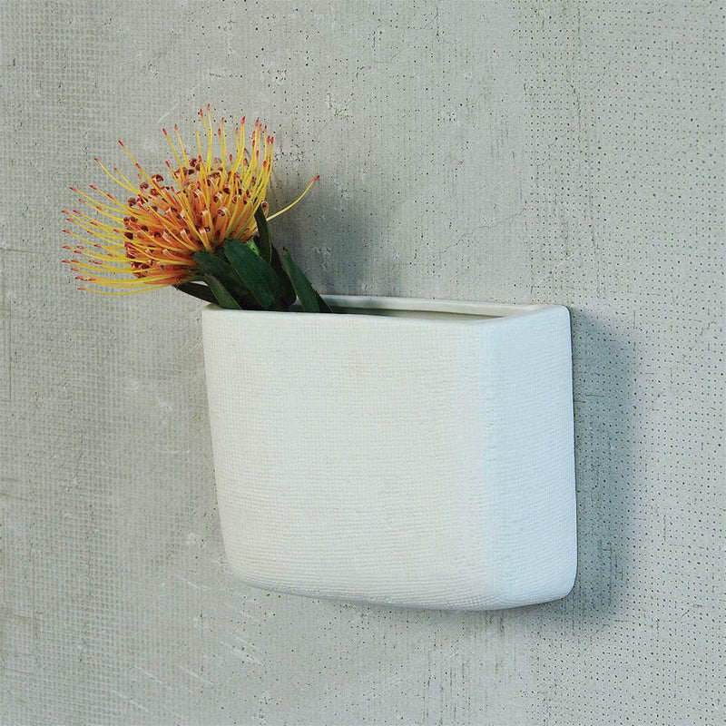 HomArt Ceramic Wall Pocket - Set of 4