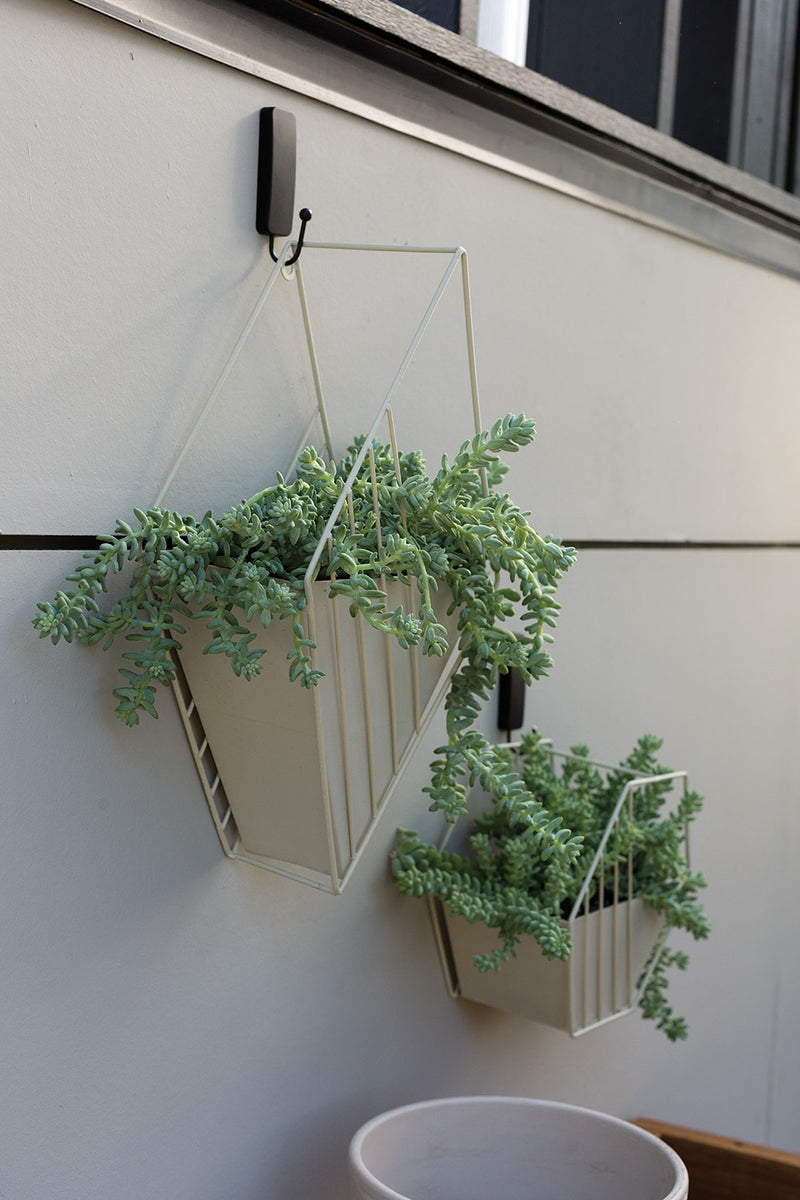 Tulane Hanging Planter Set Of 2 By Accent Decor