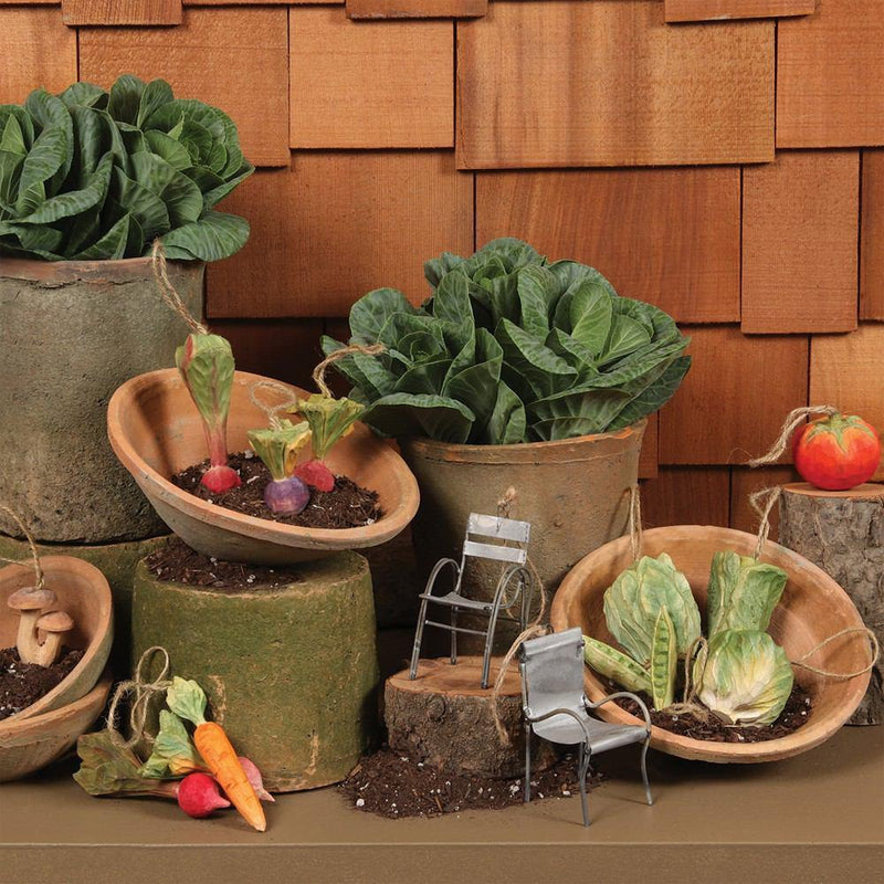 HomArt Rustic Terra Cotta Bowl - Set of 6
