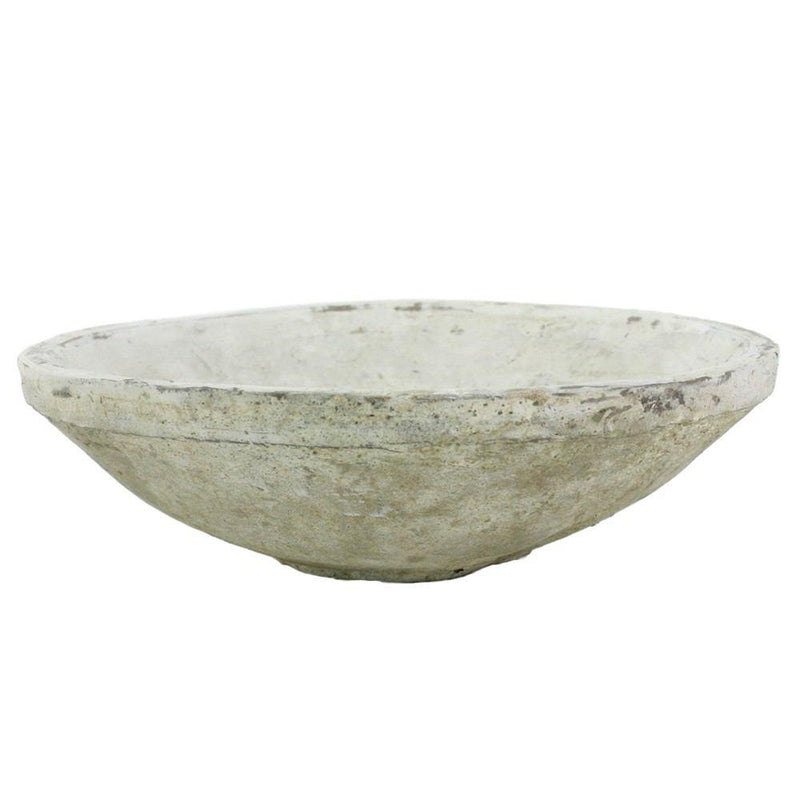 HomArt Rustic Terra Cotta Bowl - Small - Whitestone
