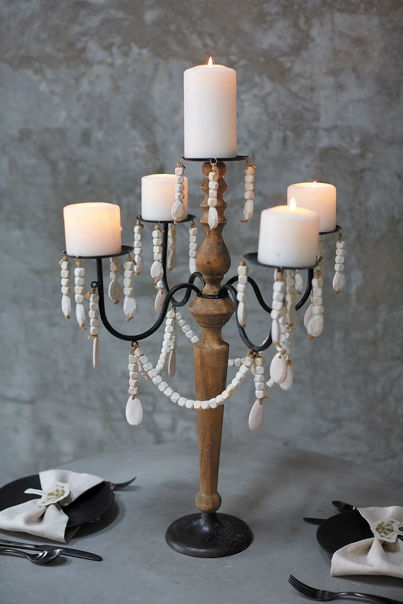 Alessandra Candelabra By Accent Decor