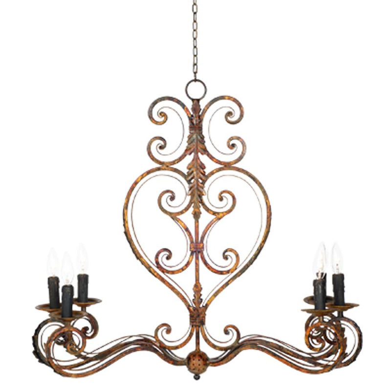 A&B Home Chandelier - 89706
