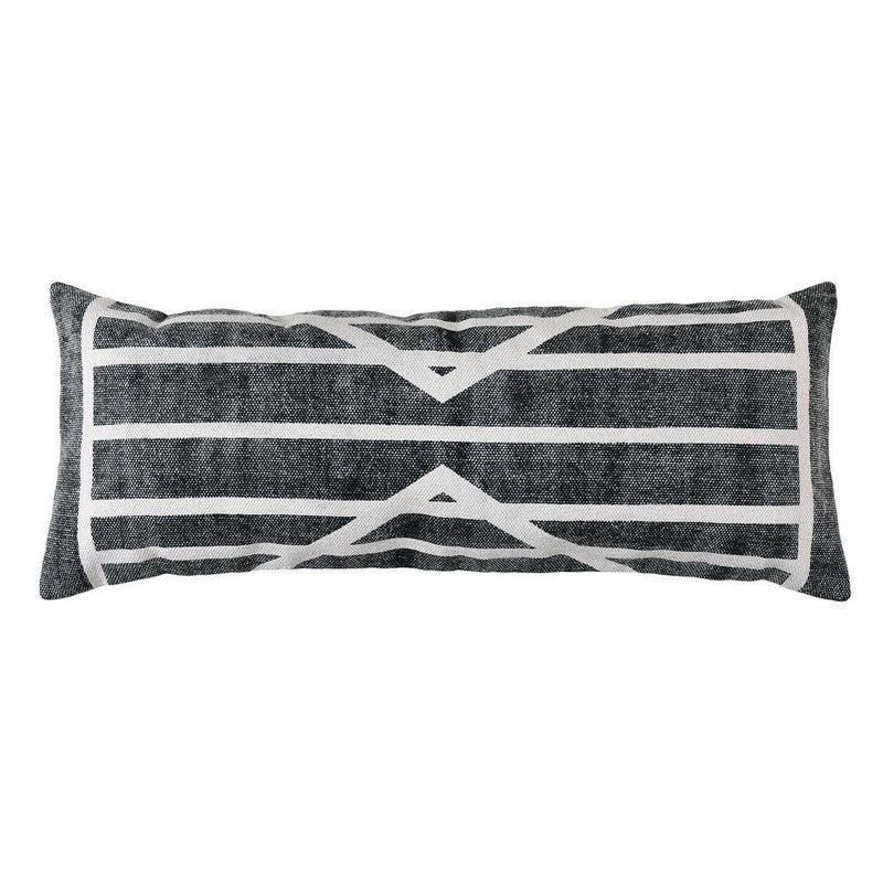 HomArt Block Print Lumbar Pillow - 14x36 - Feature Image