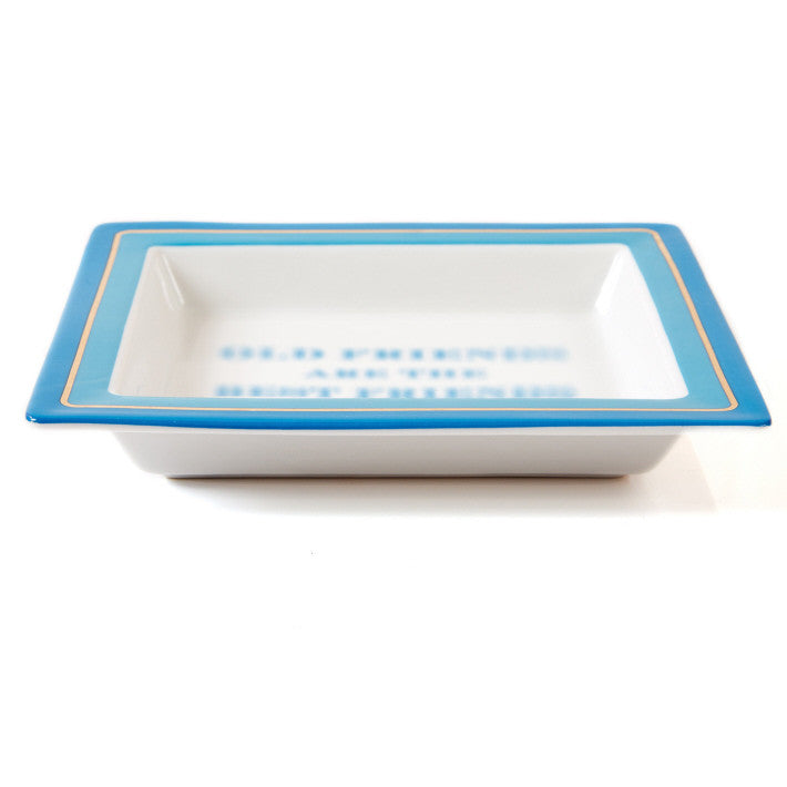 Two's Company Mirror Mirror Tray In Gift Box