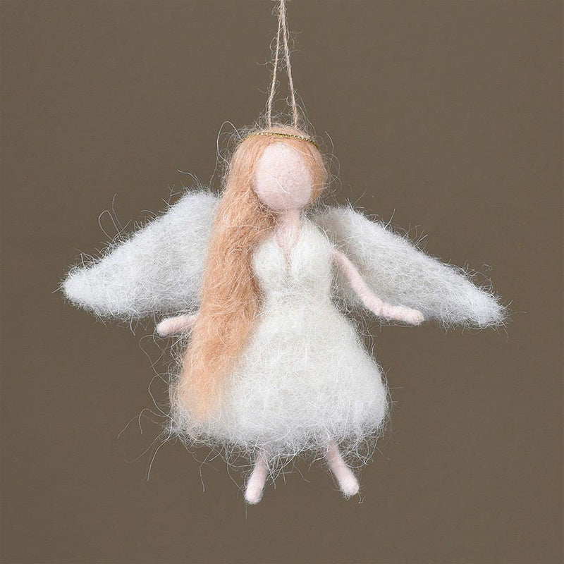 HomArt Felt Angel Ornament - Set of 6