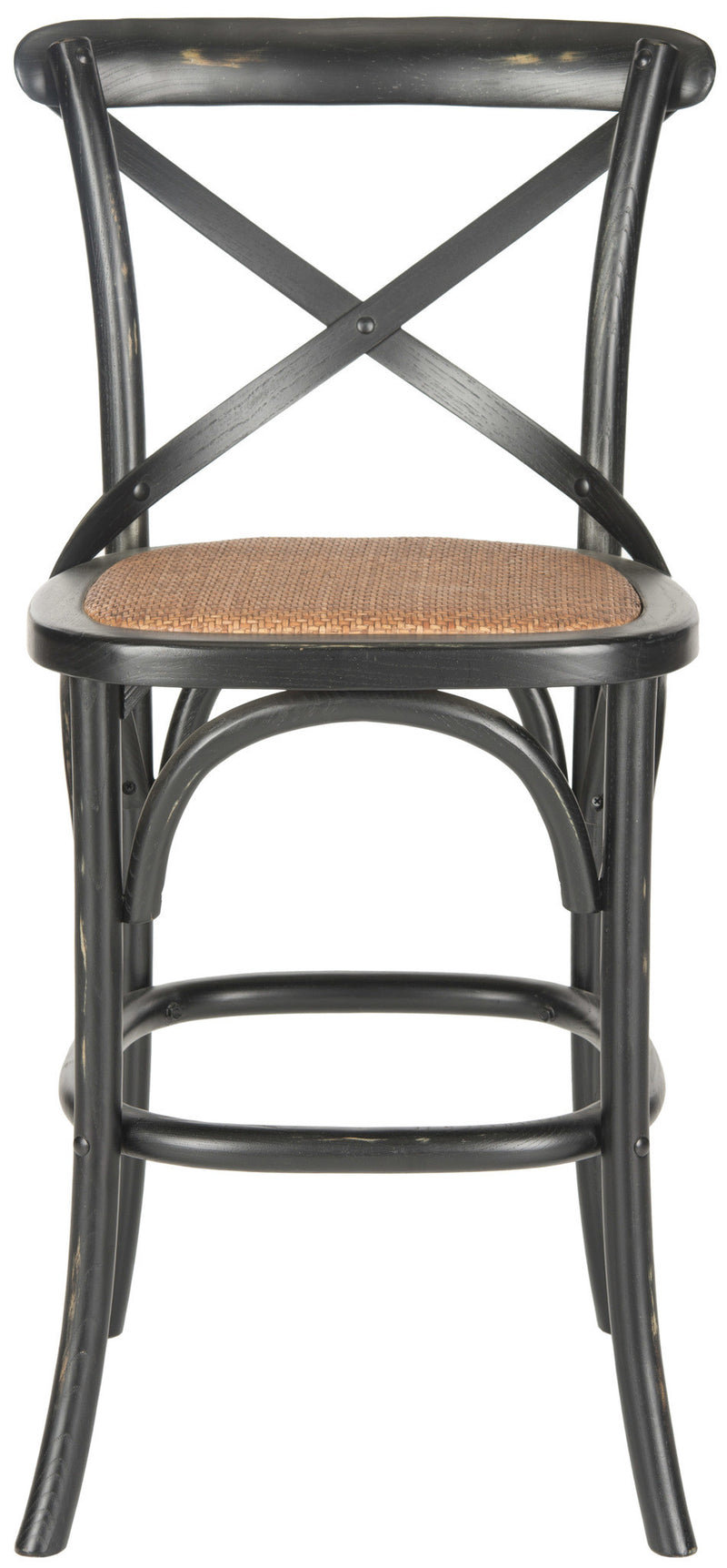 Safavieh Franklin X Back Counter Stool
