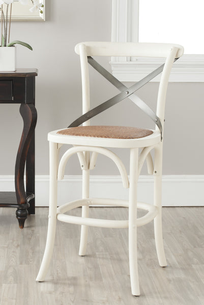 Safavieh Eleanor X Back Counter Stool Modish Store