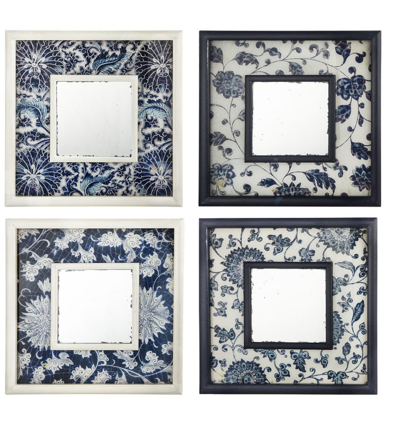 A&B Home Antiqued Mirror Set of 4