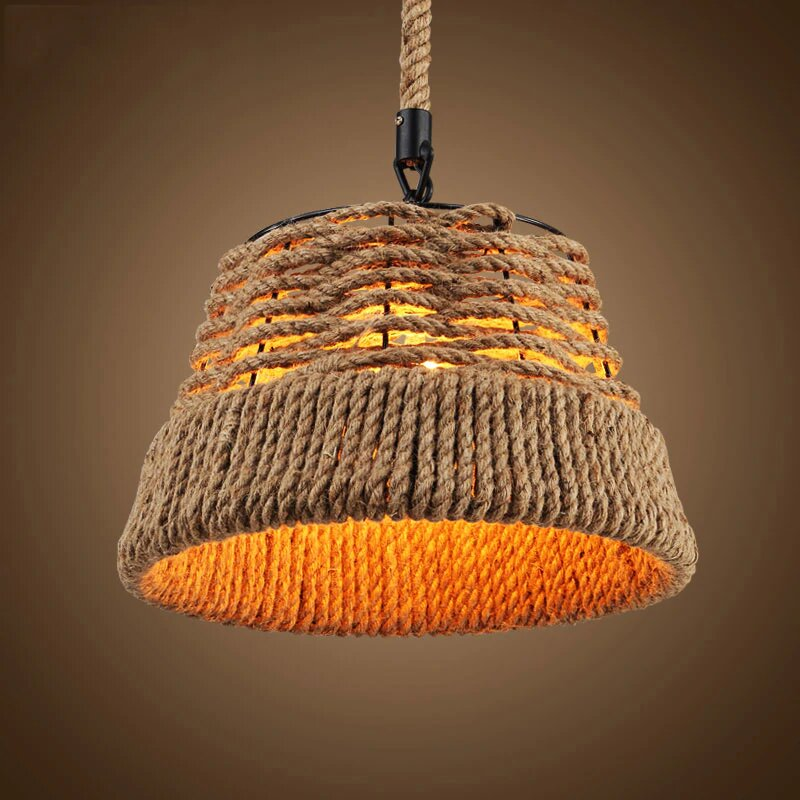 American vintage country pendant lamp by Artisan Living