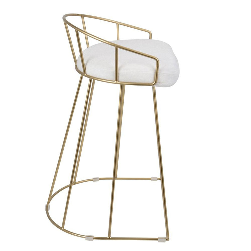 LumiSource Canary Counter Stool - Set of 2