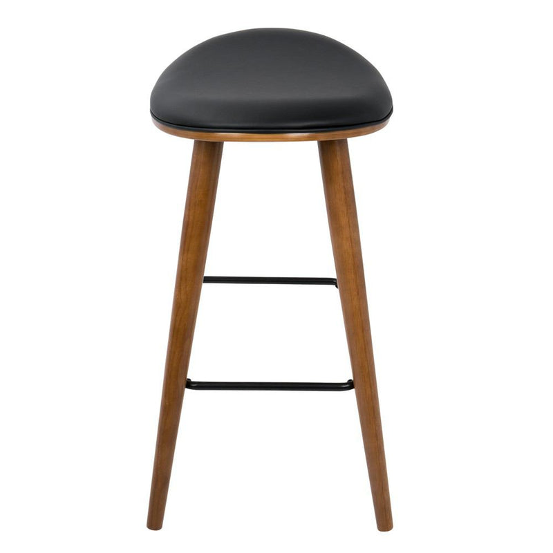 LumiSource Saddle Counter Stool - Set of 2