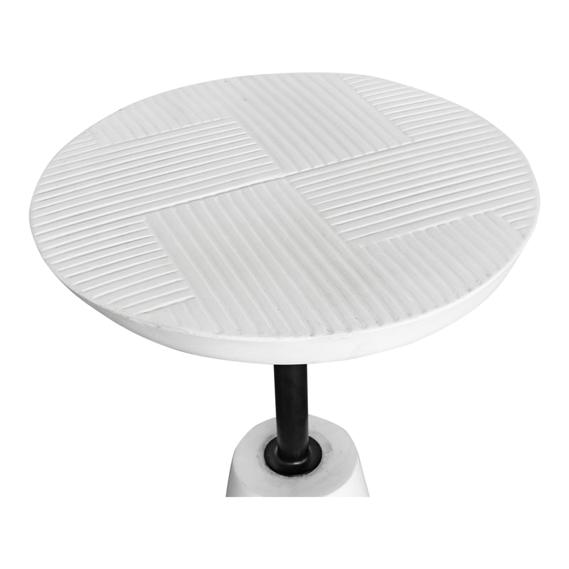 Moe's Home Foundation Outdoor Accent Table White