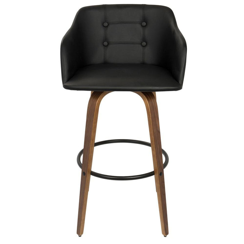 LumiSource Bruno Barstool with Swivel