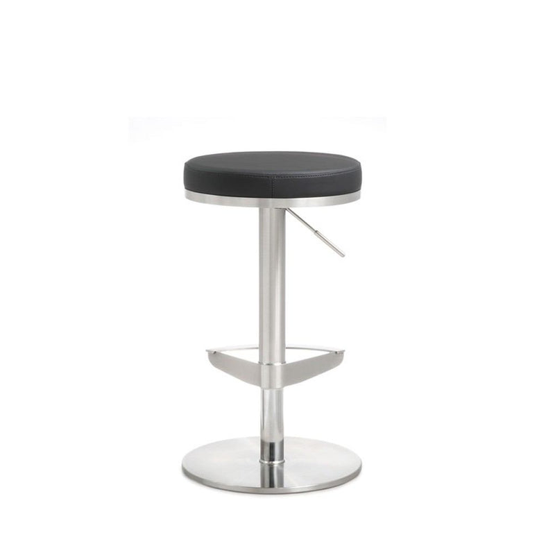 Kube Import Victor Hydraulic Stool W/ Swivel Round Base - C216