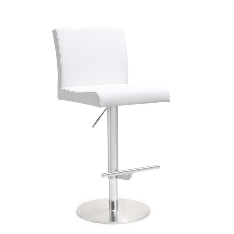 Kube Import Darwin Hydraulic Stool W/ Swivel Round Base - C237