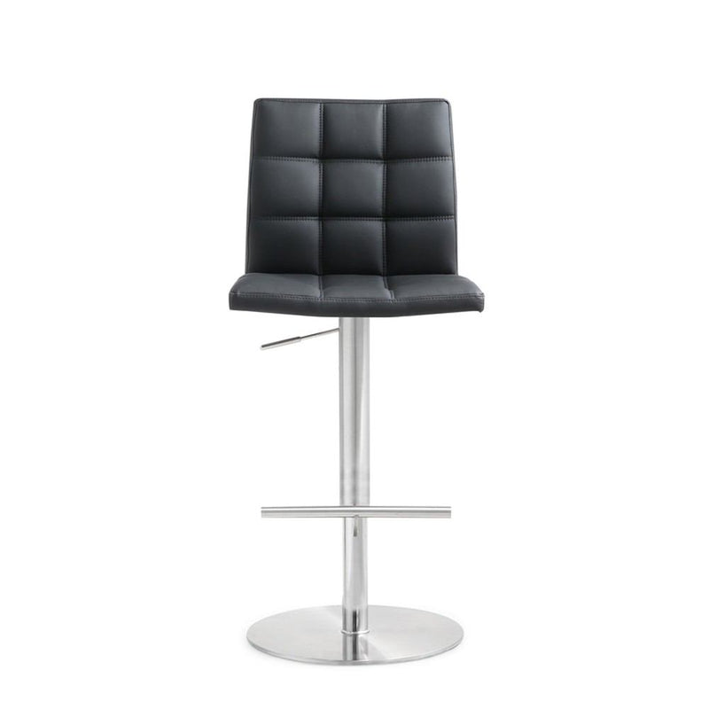 Kube Import Braga Hydraulic Stool W/ Swivel Round Base - C238