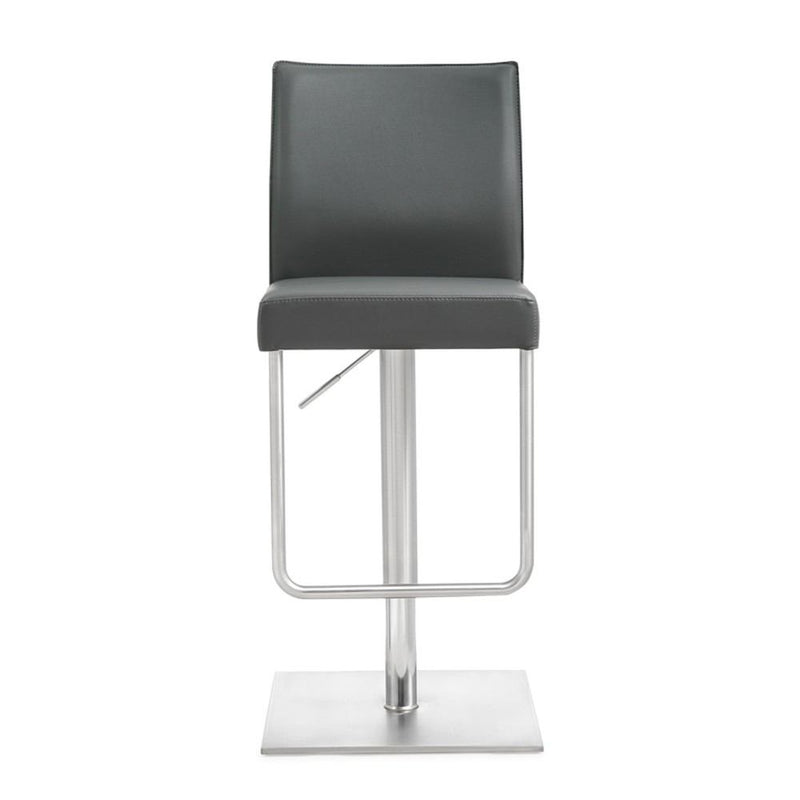 Kube Import Sydney Hydraulic Stool W/ Swivel Round Base - C341