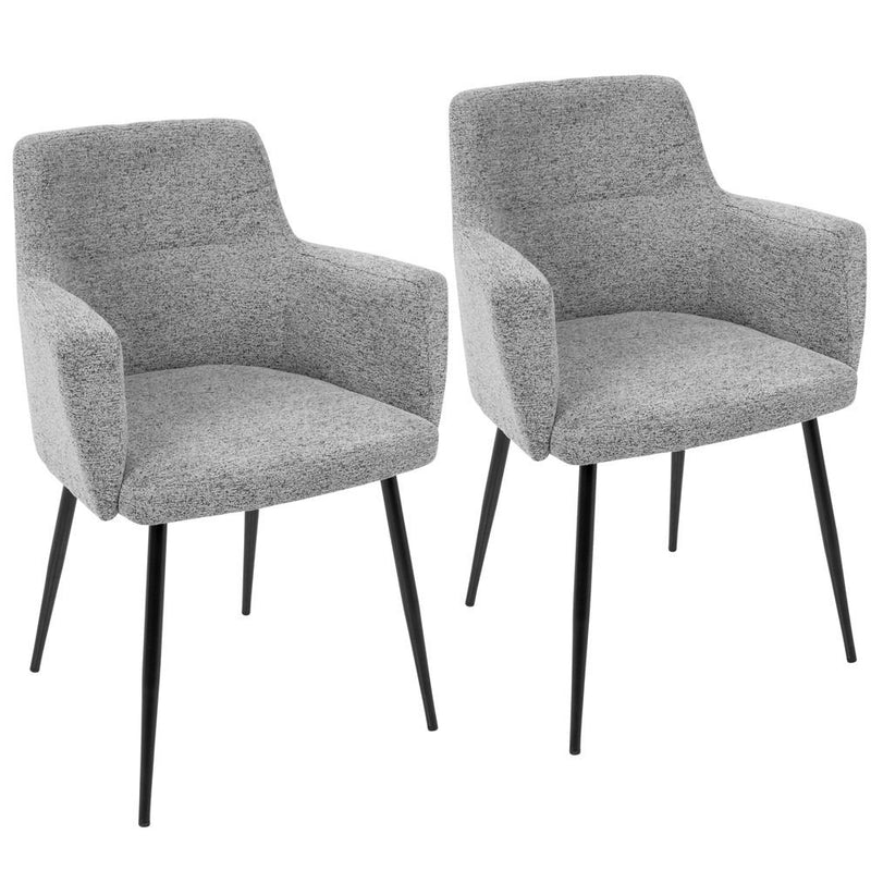 LumiSource Andrew Dining Chair - Set Of 2