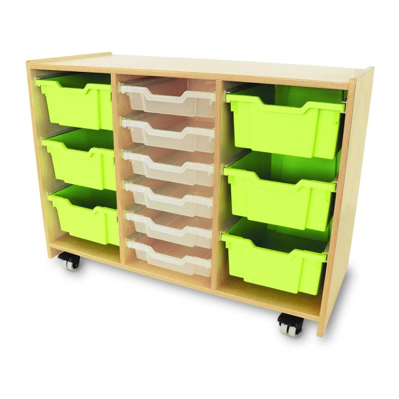Whitney Brothers® Whitney Plus Green Tray Storage Cabinet