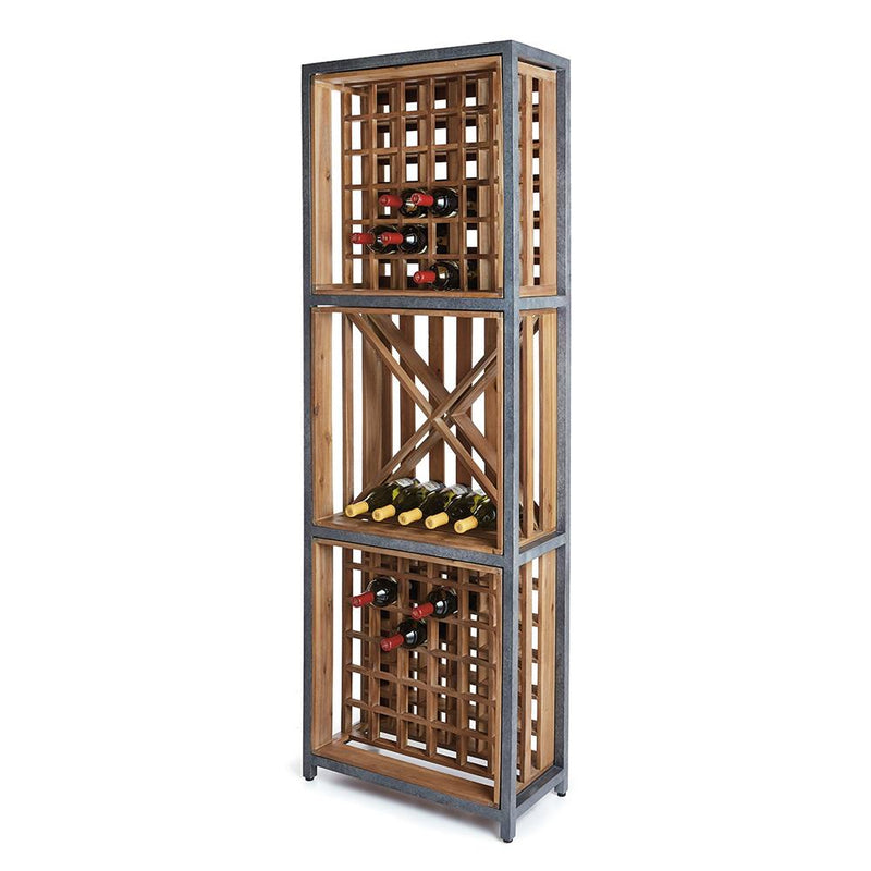 La Cave 108-Bottle Wine Rack by Napa Home and Garden