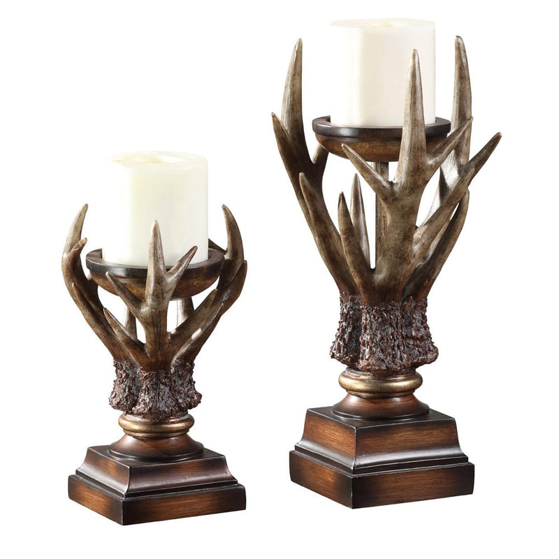 Crestview Collection Deerfield Candleholder - Set of 2