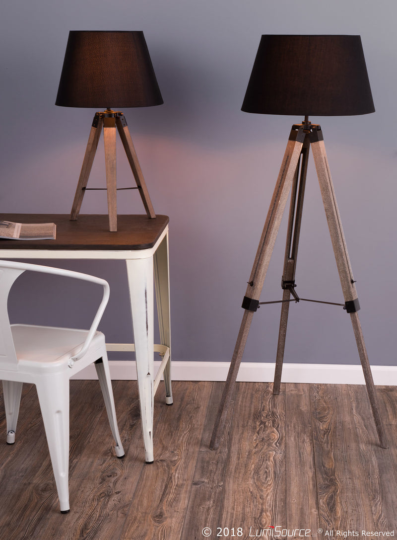 LumiSource Compass Floor Lamp