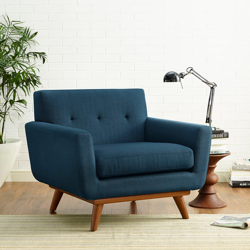 Modway Engage Upholstered Armchair - Azure