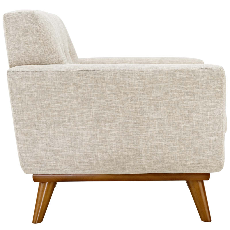 Modway Engage Upholstered Armchair - Wheatgrass