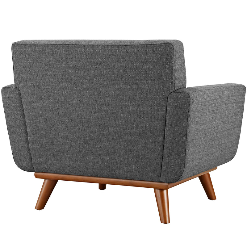 Modway Engage Upholstered Armchair - Gray