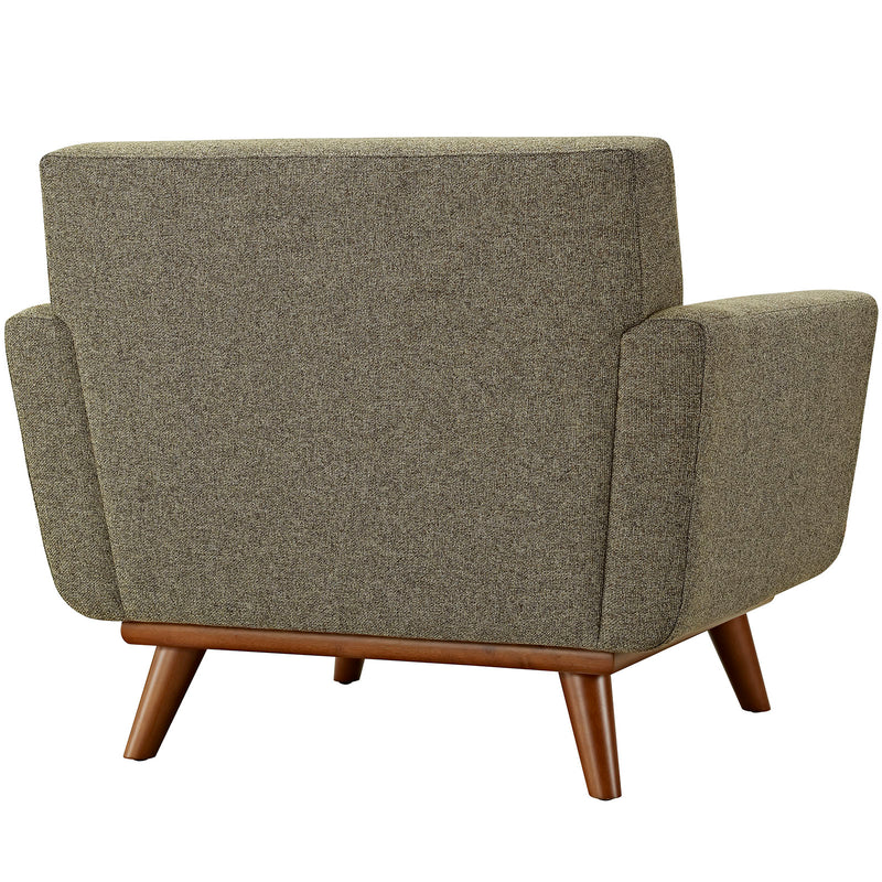 Modway Engage Upholstered Armchair - Oatmeal