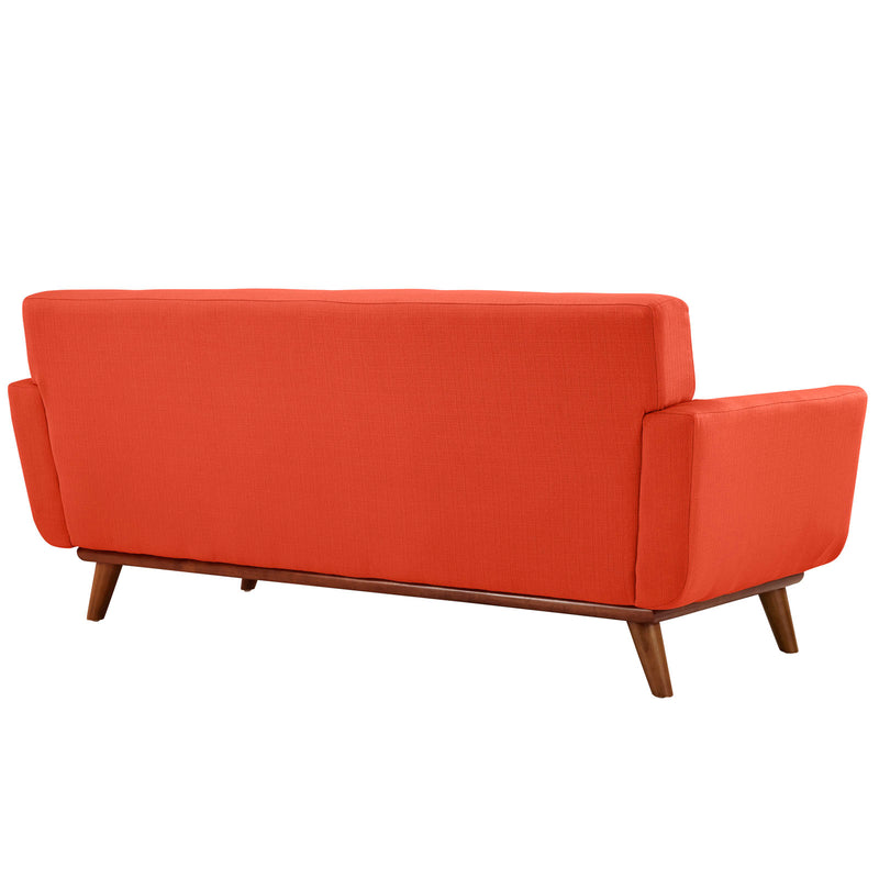 Modway Engage Upholstered Loveseat - Atomic Red