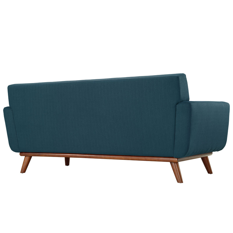 Modway Engage Upholstered Loveseat - Azure