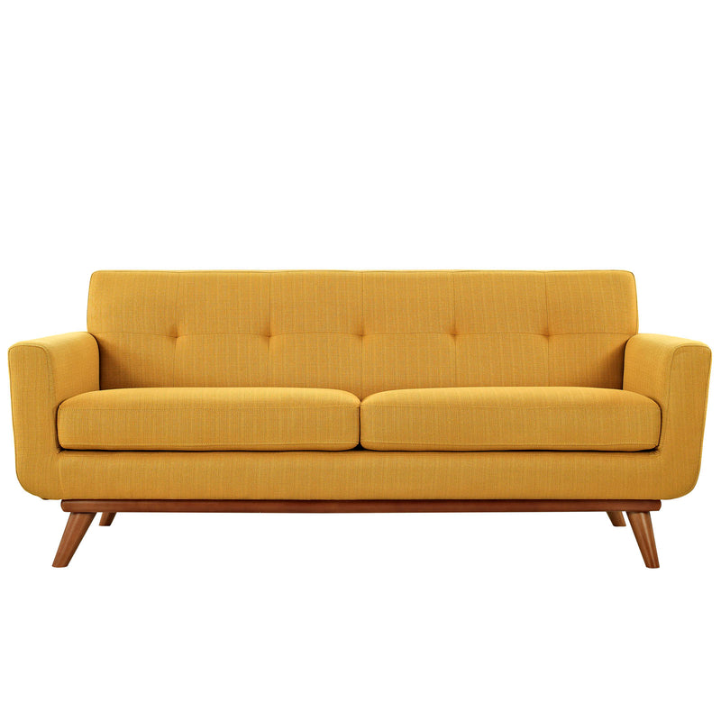Modway Engage Upholstered Loveseat - Citrus