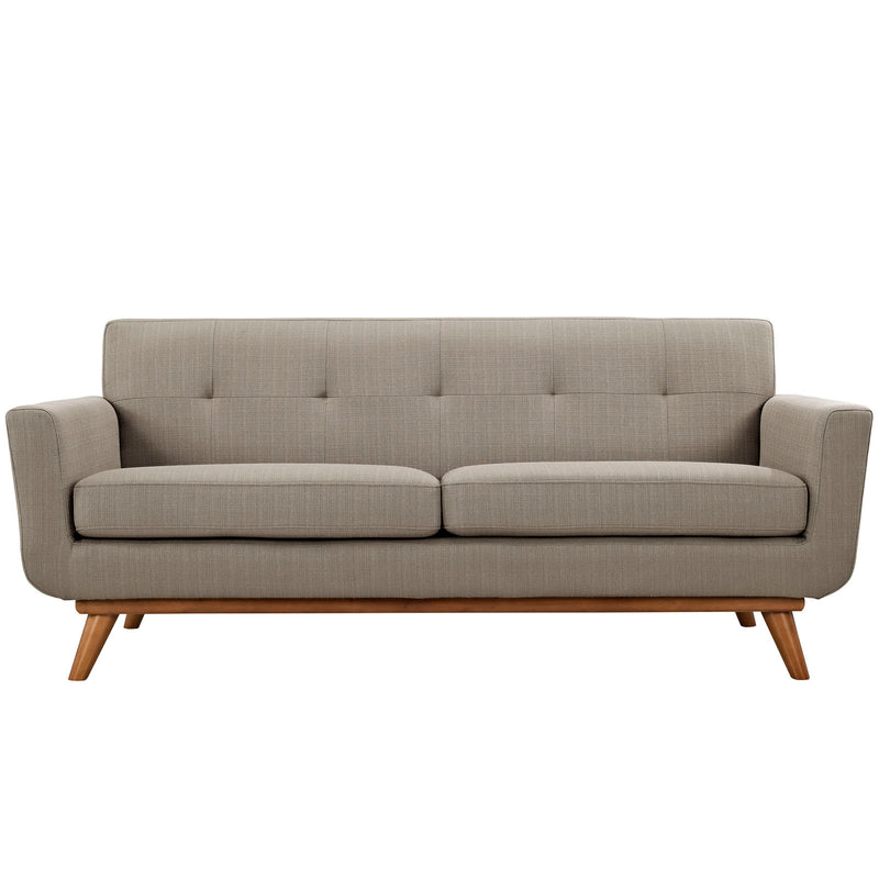Modway Engage Upholstered Loveseat - Granite