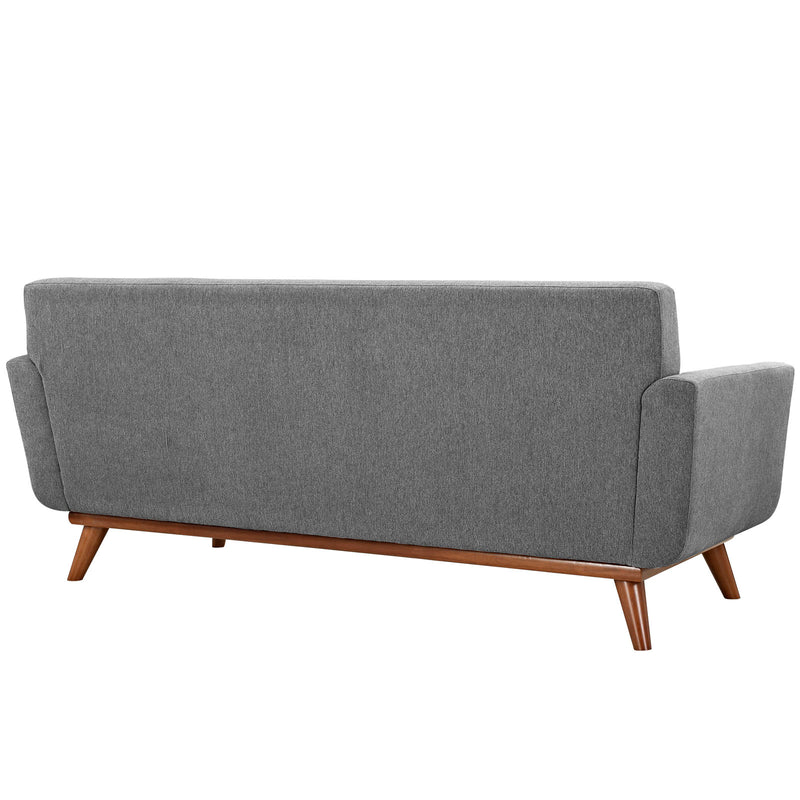 Modway Engage Upholstered Loveseat - Expectation Gray