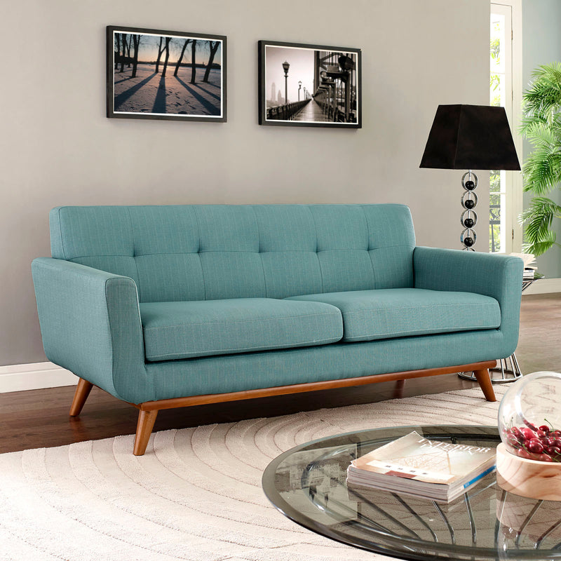 Modway Engage Upholstered Loveseat - Laguna