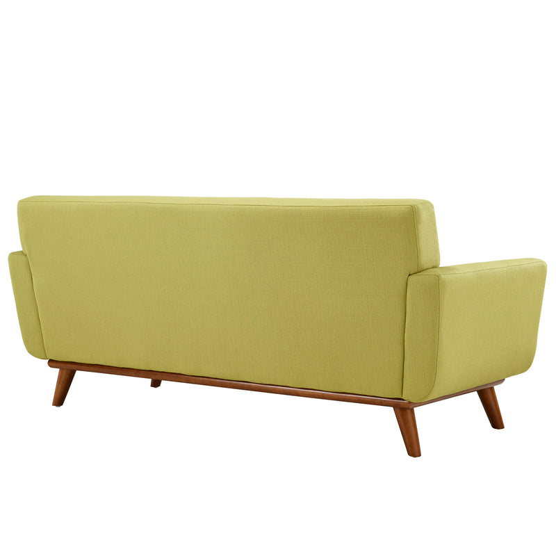Modway Engage Upholstered Loveseat - Wheatgrass