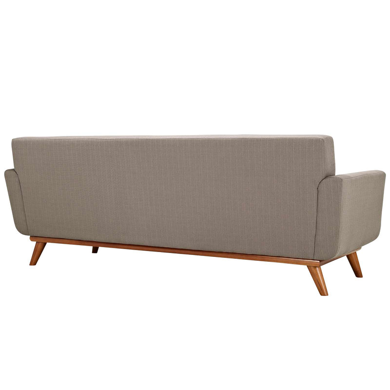 Modway Engage Upholstered Sofa - Granite