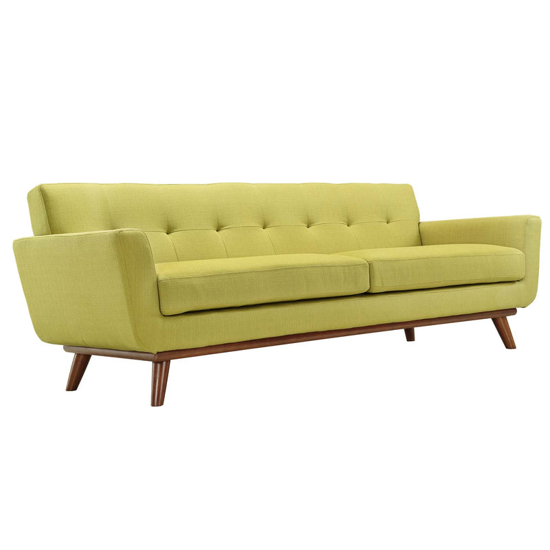 Modway Engage Upholstered Sofa - Wheatgrass