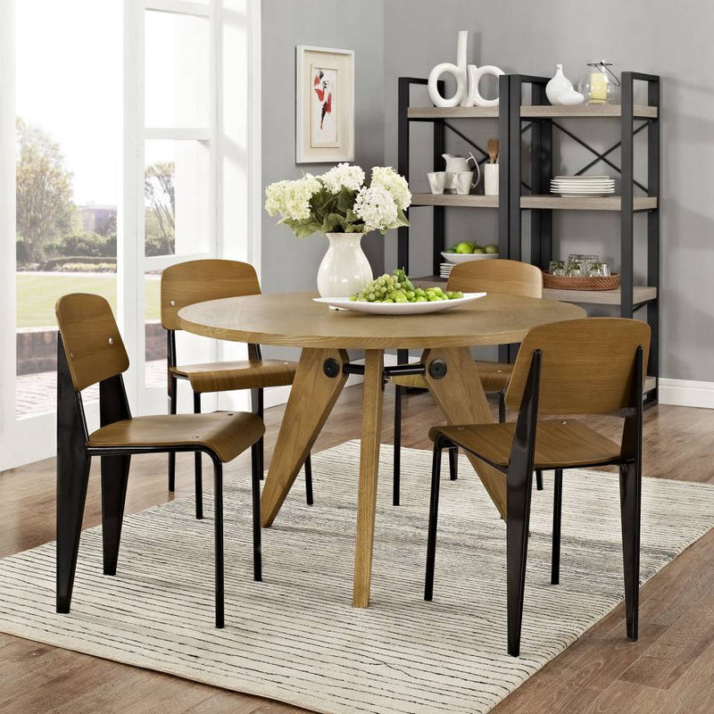 Modway Cabin Dining Side Chair Set of 4