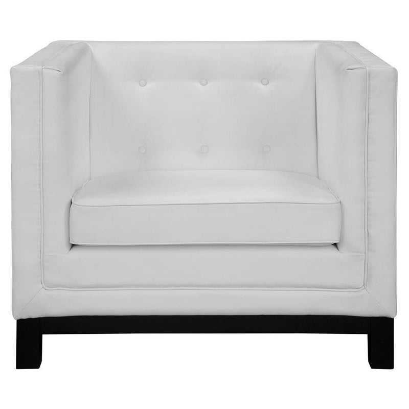 Modway Imperial 2 Piece Living Room Set - White