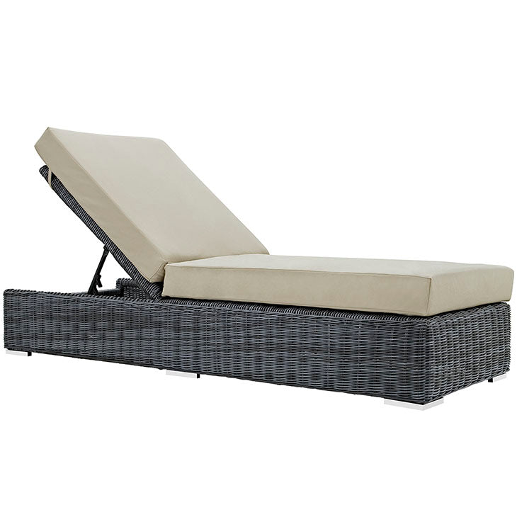 Modway Summon Outdoor Patio Chaise Lounge