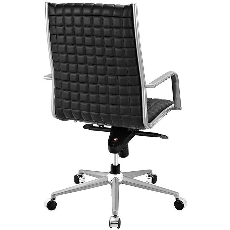 Modway Pattern Highback Office Chair - Black