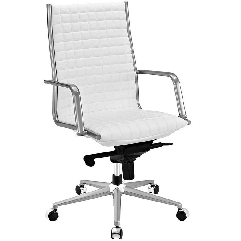 Modway Pattern Highback Office Chair - White